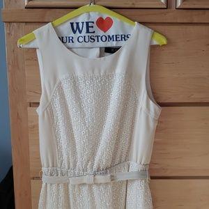 BCBG Paris Cream Dress